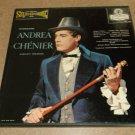 Giordano - Andrea Chenier Complete - Blue Back LONDON OSA 1303 - 3 Classical Records  LP Box Set