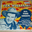 Tex Williams All Time Greats - DECCA 2174 - Country EP 45 rpm Record