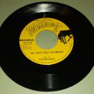 The Mustangs - Am I That Easy To Forget - MUSTANG 127 - Private Label Dance 45