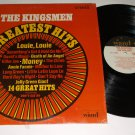 The Kingsmen  Greatest Hits  WAND 681  Rock Record LP