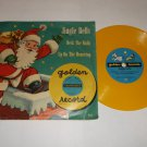 Jingle Bells Deck The Halls GOLDEN R35 Childrens Christmas Record