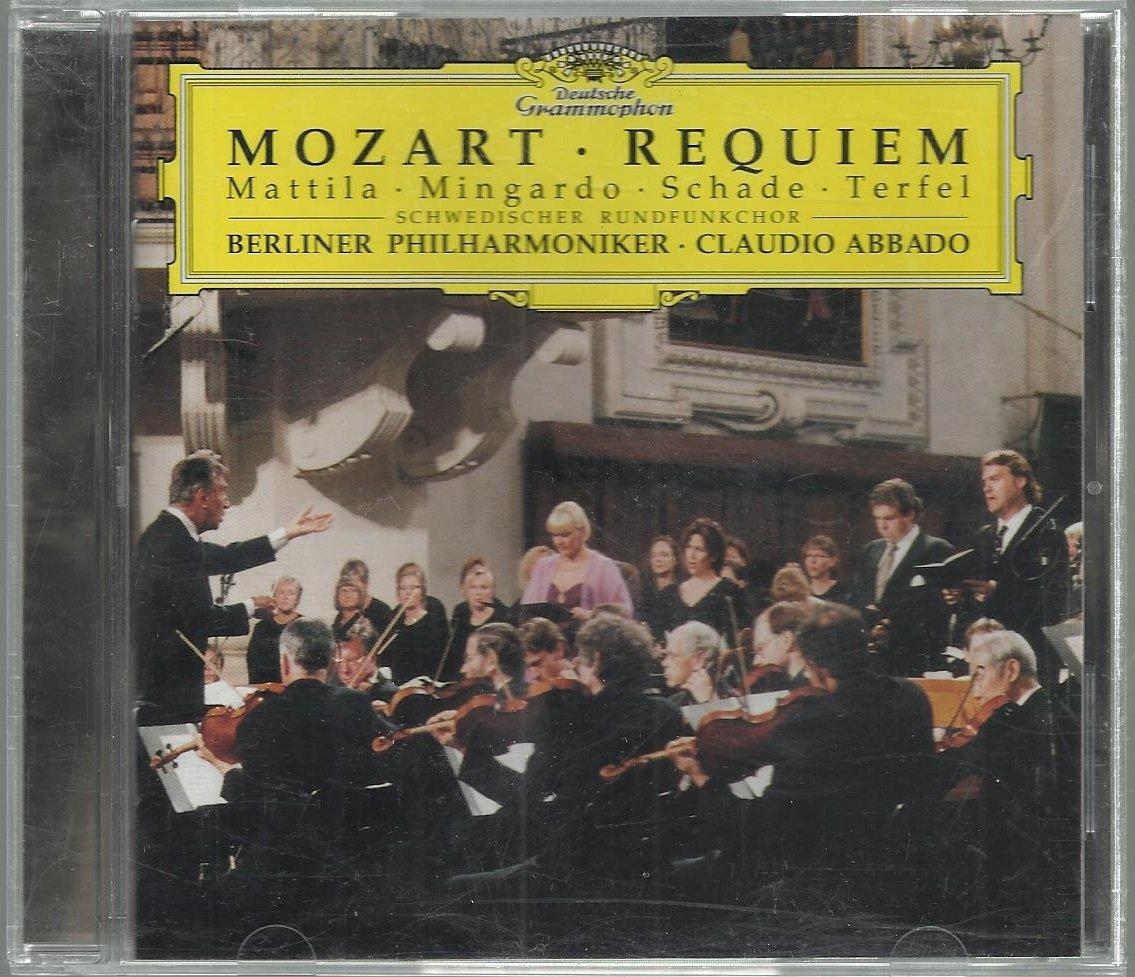Mozart  Requiem -  Claudio Abbado  - DGG  Classical  CD