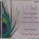 JS Bach - The Complete Orchestral Suites - Martin Pearlman  Classical  CD
