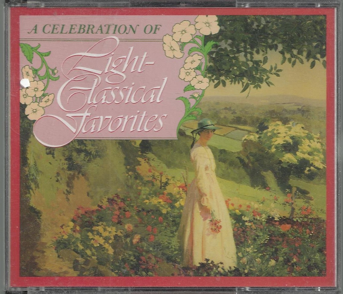 A Celebration Of Light Classical Favorites  - 4 Classical CD's