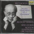 Beethoven Concerto No. 5  Rudolf Serkin  Seiji Ozawa    Classical  CD