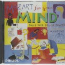 Mozart For The Mind  Boost Your Brain Power    Classical  CD