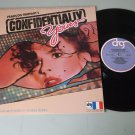 Francois Truffaut  Confidentially Yours Soundtrack - DRG 9519  Record LP NM-