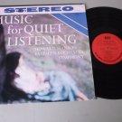 Howard Hanson - Music For Quiet Listening - MERCURY ERA 1003 Classical Record