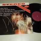 Handel Harty  Water Music  Royal Fireworks   Antal Dorati  MERCURY 90158   Classical Record LP