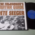 Pete Seeger  The Folksingers Guitar Guide  w/ Book FOLKWAYS 8354   Record LP