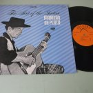 The Art Of The Guitar - Manitas de Plata - EVEREST 3201   Latin Guitar Record  LP