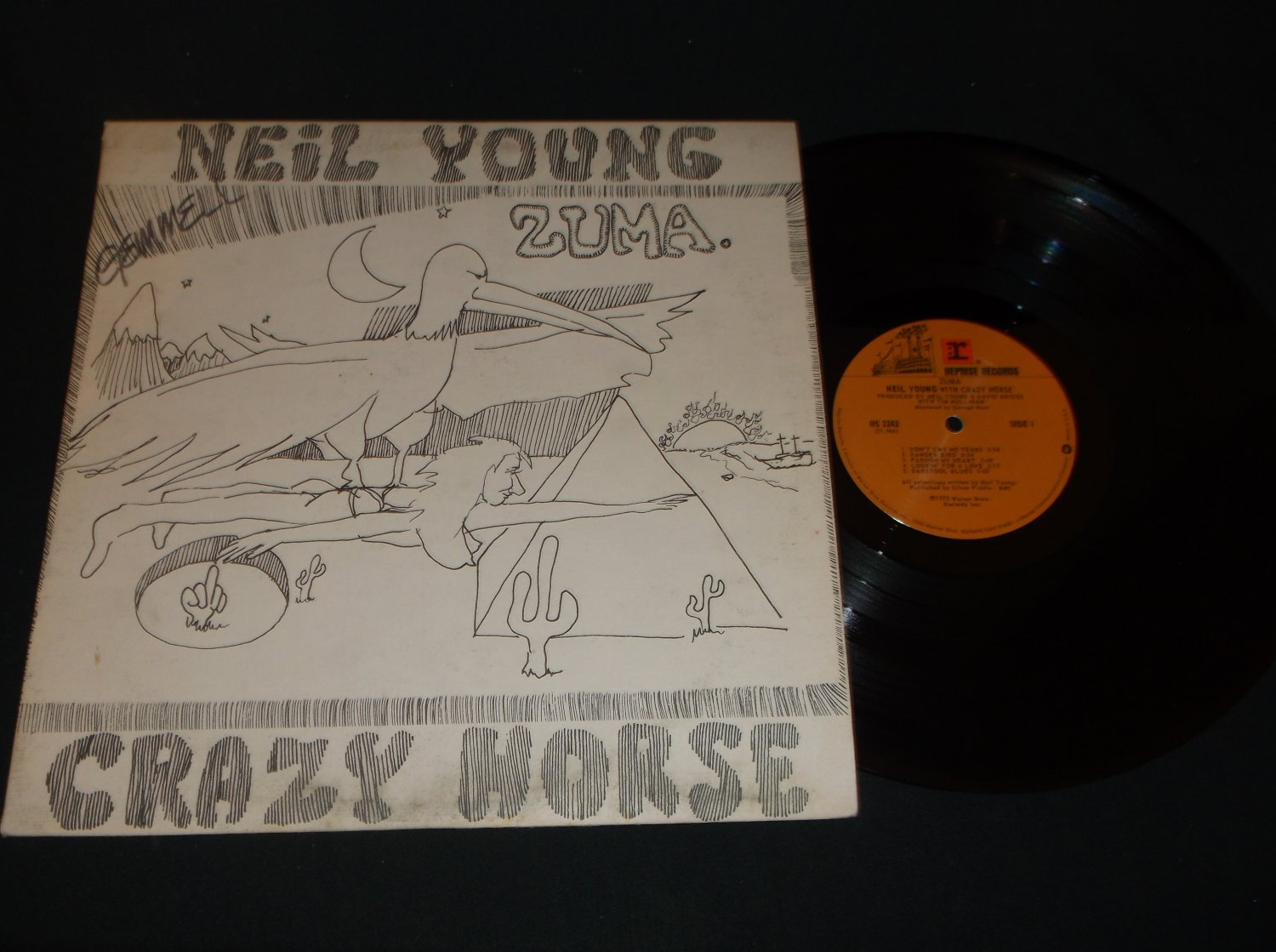 Neil Young - REPRISE 2242  - Rock Record LP
