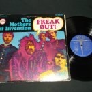 Frank Zappa Mothers Of Invention - Freak Out - VERVE 5005  Hot Spots Blurb Record  LP