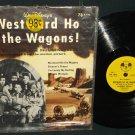 Walt Disney Westward Ho The Wagons Mickey Mouse Record DBR-67 Soundtrack 78