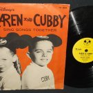 Walt Disney Karen And Cubby Sing Songs Together Mickey Mouse DBR-75 78rpm