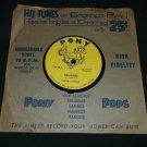 Fausto Curbello  Malaguena  La Cumparsa  PONY 10  Afro-Cuban Rhumba 78rpm Rare Record
