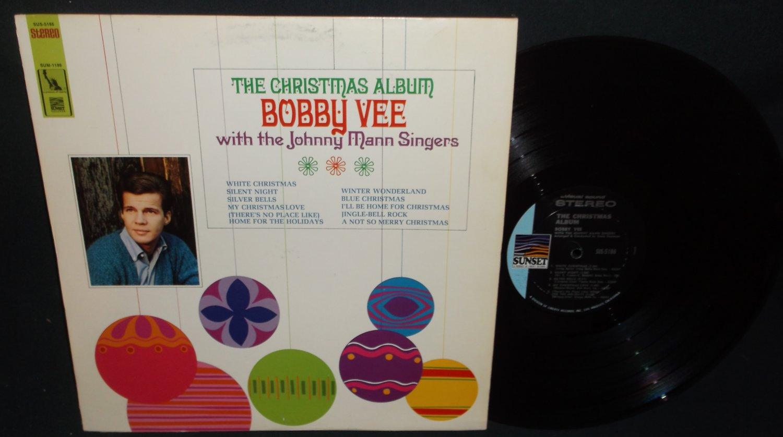 Bobby Vee - The Christmas Album - SUNSET 5186 -  Record LP