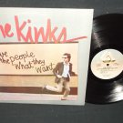 The Kinks - Give The People What They Want - ARISTA 9567 Rock LP