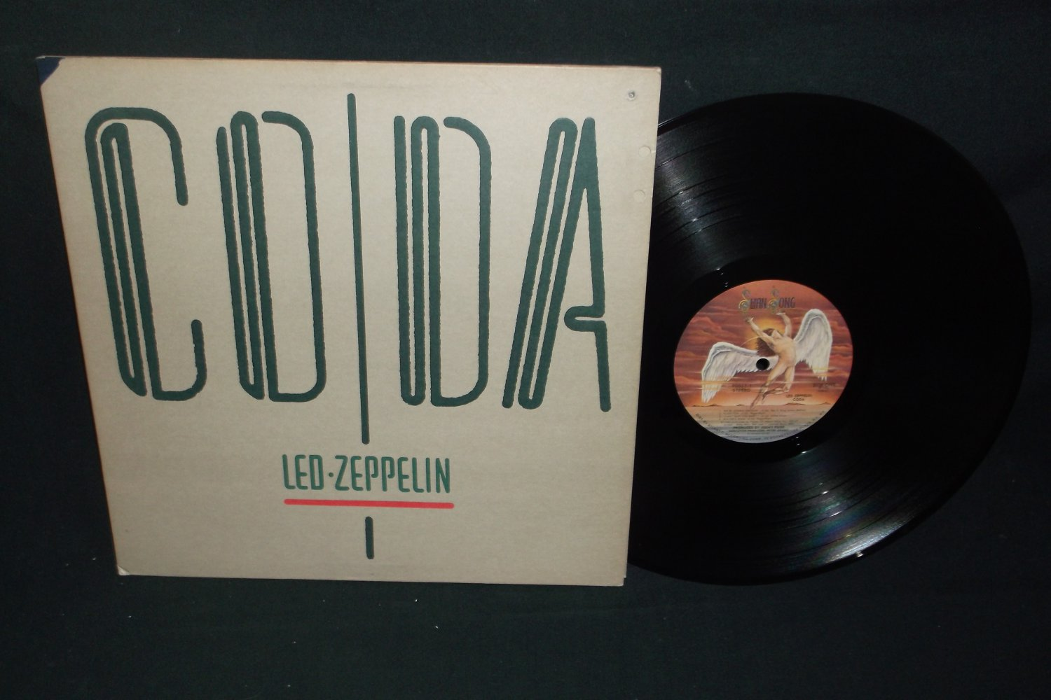 Led Zeppelin - Coda  - SWAN SONG 90051 - Rock LP