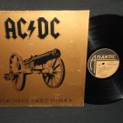 AC/DC - For Those About To Rock - ATLANTIC 50851 - Germany Issue Rock Record LP