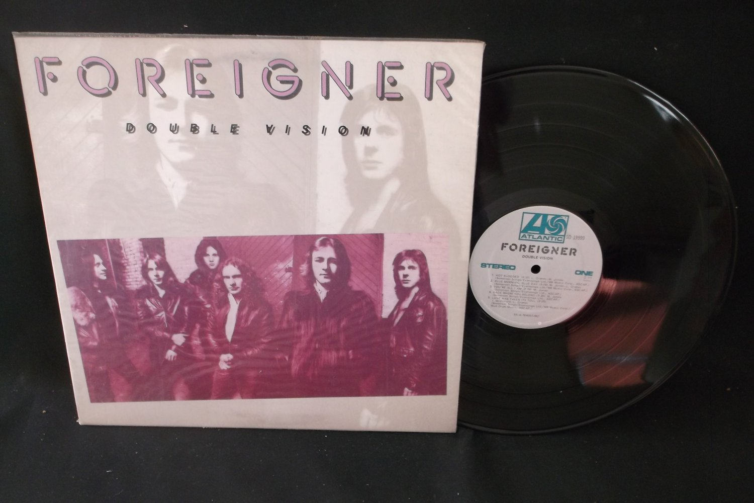 Foreigner - Double Vision - ATLANTIC 19999 - Record LP
