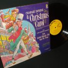 Dickens  A Christmas Carol - PETER PAN 8110 -  Holiday Record w/ Booklet