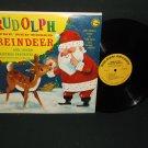 Jimmy Durante Bing Crosby Rudolph Reindeer - GOLDEN 148  LP Record