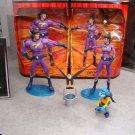 DC UNIVERSE MATTEL SDCC 2009 Wonder Twins figure set with Gleek!