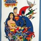Large 18 X 24 Superman Batman Wonder Woman The Entire JLA Super Powers Poster
