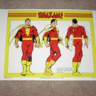 Large 18 X 24 SHAZAM! Capt Marvel Super Powers Poster