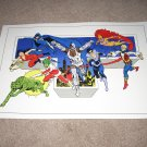 Large 18 X 24 TEEN TITANS Super Powers Poster
