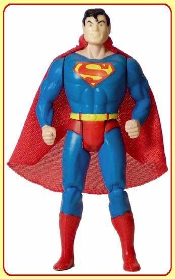 LOOSE NM SUPER POWERS SUPERMAN action figure