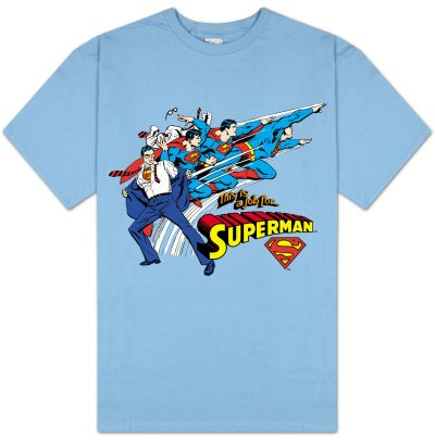 SUPER POWERS Official This is a Job for Superman T-Shirt