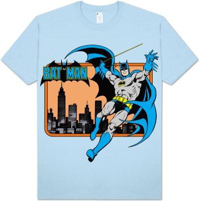 SUPER POWERS Classic Batman t-shirt