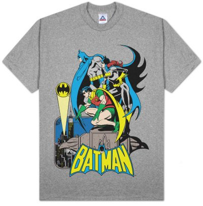 SUPER POWERS Batman , Batgirl & Robin T-shirt