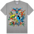 SUPER POWERS JLA Superman, Batman, Wonder Woman, Flash, SHAZAM! , JLA T-shirt