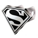 Superman Logo Tow Trailer Receiver Hitch Plug Cover