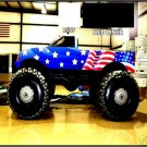 MONSTER TRUCKS JAMS MOTORSPORTS EVENTS PROMOTERS RACING BUSNESS SIGNS BALLOONS PROPS