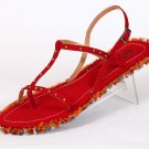 Red Barberian Sandal