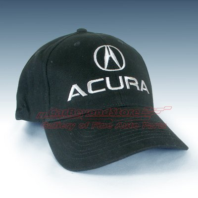 Acura Black Baseball Hat