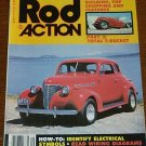 "Rod Action September 1981 - '39 Chevy ""Canadian Honker"""
