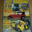 Popular Hot Rodding September 1986 - Muscle Cars