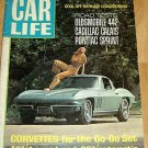 Car Life August 1966-Olds 442 Corvette Cadillac Rambler