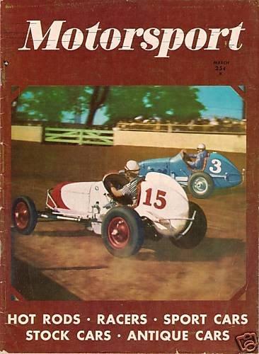 Motorsport March 1951 Racing Rally Darlington Jet Car
