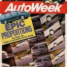 AutoWeek March 9, 1992 - Elliott F1 Indy Isuzu Trooper