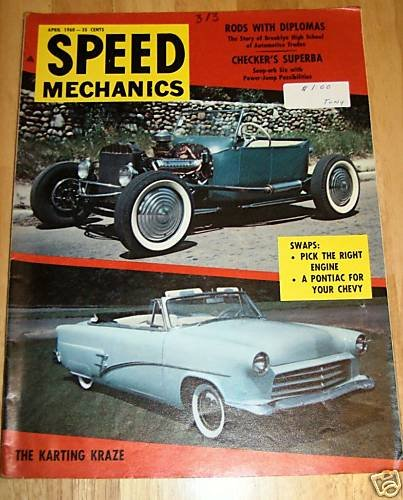 Speed Mechanics April 1960 - Checker Superba-Ford Comet