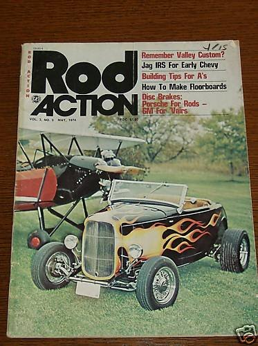 Rod Action Magazine May 1974 - Classic Cars Street