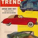 Motor Trend February 1952 - Aston Martin Stengel Custom
