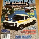 Truckin' March 1983 - '76 Dodge Van, '79 Chevy Pickup
