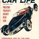 Car Life December 1955 - Tucker Auto Show Chrome Ford
